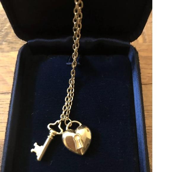 4b1a05d08b174 Tiffany & Co. Puffed.Heart Lock & Key